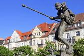 Hall marknaden i halle (saale), Tyskland — Stockfoto