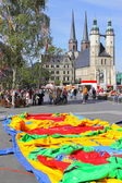 Festival in halle (saale), Germania — Foto Stock