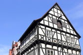 Old half-timbered house in Halle (Saale), Germany — Stock Photo