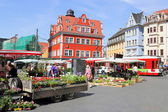 Halle Market Place in Halle (Saale), Germany — Photo