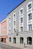 Renovated old buildings in Passau, Germany — Stock Photo