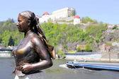 Statue in Passau, Bavaria, Germany — Stock Photo