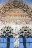 Portal at the Ulmer Cathedral, Germany — Stock Photo