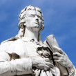 Stock Photo: Friedrich Schiller in Berlin, Germany