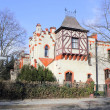 Stock Photo: Tudor style house in Berlin, Germany