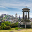 Stock Photo: Dugald Stewart Monument