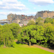 Edinburgh Princes Street Garden — Stock Photo