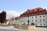 Kempten City Hall Square — Stock Photo