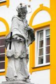 Socha nepomuk, Rosenheim, Německo — Stock fotografie