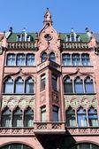 Historic old building facade — Stock Photo