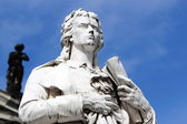 Friedrich Schiller in Berlin, Germany — Stock Photo