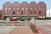 Modern houses line in Berlin, Germany — Stock Photo