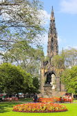 Edinburgh Scott Monument — Stock Photo