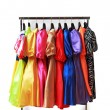 clothes rack — Stock Photo