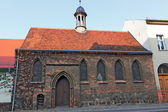 Hospital chapel in Gransee — Stock Photo
