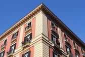 Palazzo in Naples — Stock Photo