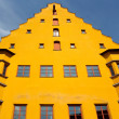 Hall building in Nordlingen — Stock Photo