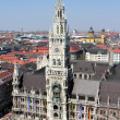 Munich New Town Hall — Stock Photo