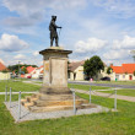 Frederick II in Kloster Zinna — Stock Photo