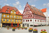 Casa de pão e dança de nördlingen — Foto Stock