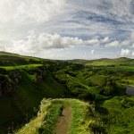 Scottish Highlands Panorama — Stock Photo