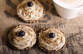 Raw food cupcakes — Stock Photo