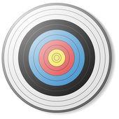 Archery target — Stock Vector