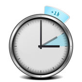 Daylight saving time — Vetorial Stock