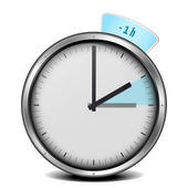 Yaz saati — Stok Vektör