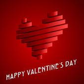 Valentines day retro — Stock Vector