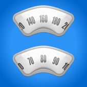 Weighing scales — Vector de stock