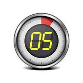 Timer digital 05 — Vector de stock