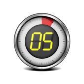 Zegar cyfrowy 05 — Wektor stockowy