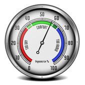 Hygrometer — Stock Vector
