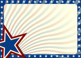 Stars and Stripes background — Stock Vector