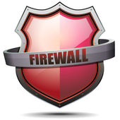 Coat of Arms Firewall — Stock Vector