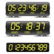Countdown timer — Stockvector #29992101