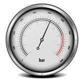Pressure meter — Stock Vector