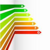 Energy Efficiency Rating — Stock Vector