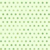 Shamrock Dots pattern — Stock Vector