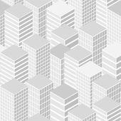 Cityscape seamless pattern — Stock Vector