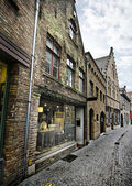 Medieval Houses in Bruges — Stock Photo