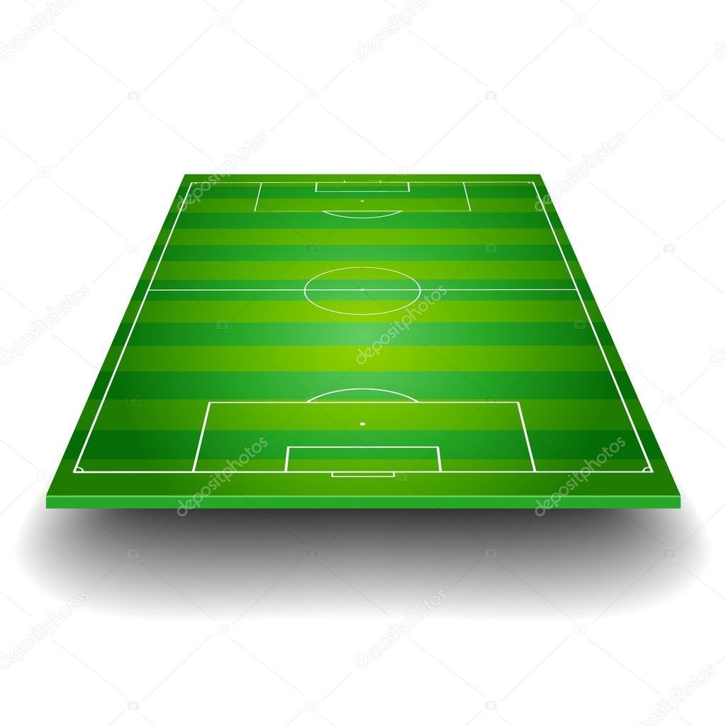 Рисунок футбольное поле