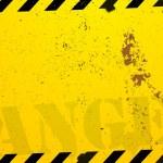 Construction danger background — Stock Vector #40716339