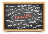 Blackboard health — Vecteur