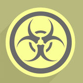 Biohazard Icon — Stock Vector