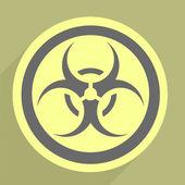Biohazard ikona — Stock vektor