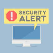 Security Alert — Stock Vector