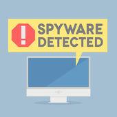 Spyware — Stock Vector