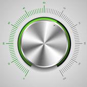 Pokrętło głośności — Wektor stockowy